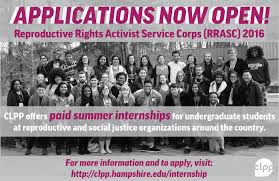 civil liberties and public policy we re accepting applications for our reproductive rights activist service corps rrasc paid