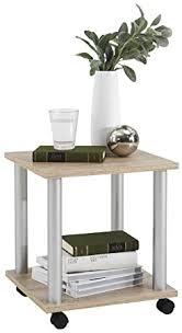 <b>FMD Side Table</b> Jango 11, 40.0 x 44.5 x 40.0 cm, Oak: Amazon.co ...
