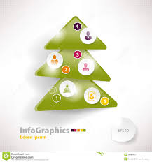 christmas infographic templates and elements set stock images modern infographic template for business design christmas royalty stock images