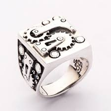 Biker Rings : <b>Sterling Silver</b> Rings for <b>Men</b>