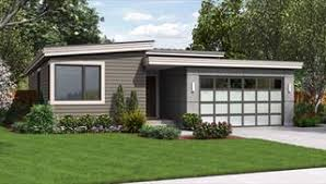 Modern House Plans  amp  Small Contemporary Style Home Blueprintsimage of Revere House Plan