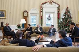 president obama with senior advisors in the oval office barack obama oval office