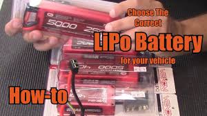 Choose The Correct <b>LiPo Battery</b> for Your Vehicle - How-To - YouTube