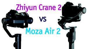 Обзор-сравнение <b>стедикамов Zhiyun Crane 2</b> и Moza Air 2 ...