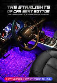 <b>Car</b> LED Starry Sky Meteor Decor Atmosphere Light Music Sound ...