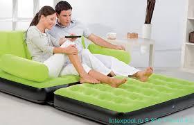 Многофункциональный <b>надувной диван трансформер BESTWAY</b> ...