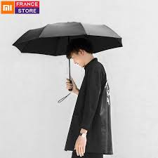 Original <b>Xiaomi Mijia Automatic Folding</b> Um brella Sunny Rainy ...