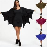 <b>Black Vampire Bat Cosplay</b> Costume Black Evil Horror Hooded ...