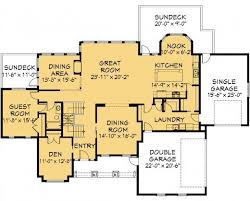 Modern House  Garage  amp  Dream Cottage Blueprints by Exciting Home PlansHuddlestone   ½ Storey   House plans Main Floor Plan