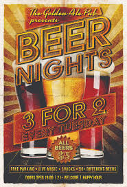 beer night flyer template by designroom1229 graphicriver preview images 01 beer nights flyer template jpg