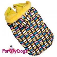 <b>For My Dogs Куртка</b> мультиколор для девочек. Для средних и ...