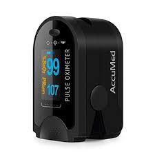 AccuMed <b>CMS-50D</b> Fingertip <b>Pulse Oximeter</b>- Buy Online in Cyprus ...