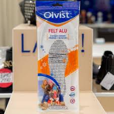 <b>Стельки Olvist</b> зимние #102K WS <b>FELT</b> ALU (войлок+фольга ...