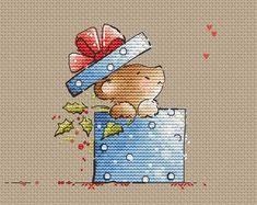<b>Bear</b> with <b>heart</b> Cross Stitch Pattern <b>Little Bear</b> baby cross stitch ...