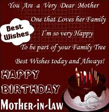 Happy bday quotes for mother in law via Relatably.com