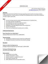 how to make a resume for a maintenance job   resume for student in    how to make a resume for a maintenance job maintenance manager resume example job description download