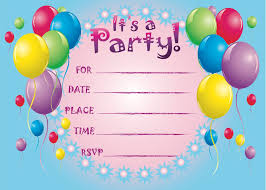 Free Birthday Invitation Templates With Photo : Birthday Party ... Free Printable Birthday Card Invitation Templates