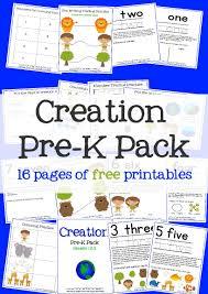 creation preschool pack mary martha mama creation prek pack