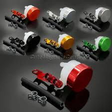 <b>1</b> Pc <b>Motorcycle Accessories CNC</b> Oil Master Cylinders Reservoir ...