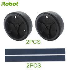 Set robot original wheels and <b>tires for iRobot roomba</b> braava 380 ...