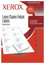 Product datasheet <b>Xerox</b> Labels A4 36 UP 70x24 mm <b>self</b>-<b>adhesive</b> ...