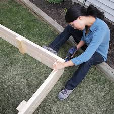 Small Picture How to Build a Raised Garden Bed