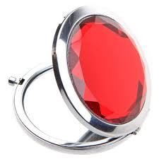Карманное серебряное <b>зеркало</b>, <b>компактные</b> зеркала, идеально ...