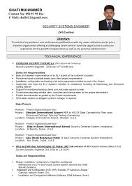 shafi muhammed it security system engineer cv