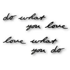 <b>Декоративная надпись Do What</b> You Love (артикул 10239.30 ...