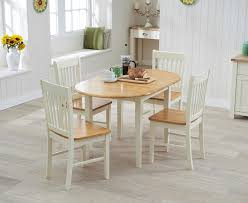 cream compact extending dining table: buy the amalfi cream extending dining table with chairs at oak furniture superstore