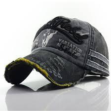 <b>Hot 100</b>% <b>Washed</b> Cotton Baseball Cap Snapback Caps Retro ...