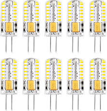 <b>G4 LED Light Bulbs</b> 3000K Warm White <b>Lighting</b> Non-Dimmable ...