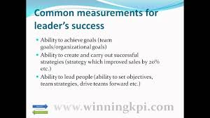 leadership success kpi best practice example leadership success kpi best practice example