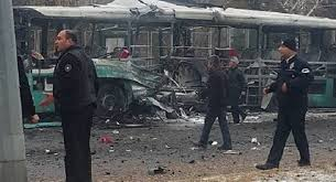 تركيا - سقوط قتلى وجرحى في انفجار استهدف ناقلة جنود في قيصري