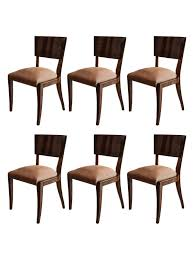 art deco rosewood dining chairs set of 6 art deco dining furniture