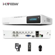 H.View <b>4CH</b> Hybrid <b>DVR CCTV DVR</b> Recorder 4 Channels <b>H</b>.<b>264</b> ...