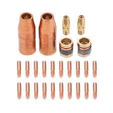 DRELD 26 шт MIG сварочный пистолет <b>набор контактных</b> ...