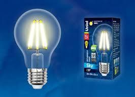 <b>Лампа</b> светодиодная <b>Uniel LED</b>-<b>A70</b>-<b>15W</b>/<b>3000K</b>/<b>E27</b>/<b>CL</b>