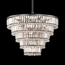 Magnificence Satin Nickel 24 Wide <b>Crystal Ceiling Light</b>
