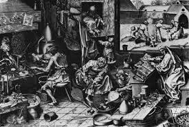 ruegel pieter the elder the alchemist engraving x mm ruegel pieter the elder the alchemist engraving 343 x 448 mm british museum