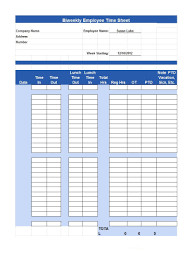 timesheet time card templates template lab timesheet template 20