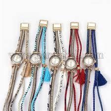 Wholesale Alloy <b>Watch</b> Head Bracelet Watches, with <b>PU Leather</b> ...