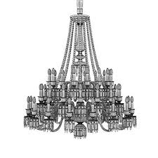 baccarat crystal lighting mille nuits chandeliers from luxurycrystal baccarat zenith arm black crystal chandelier