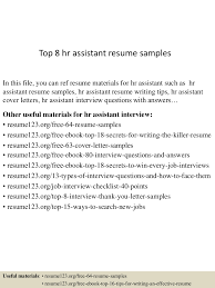 sample human resources assistant resume examples resumes example sample human resources assistant resume top assistant resume samples
