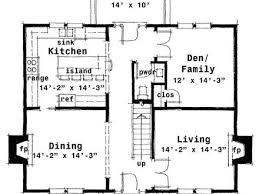 Center Hall Colonial Floor PlansTraditional center hall colonials center hall colonial floor plans