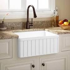 fireclay farmhouse kitchen sink apron kitchen sink kitchen