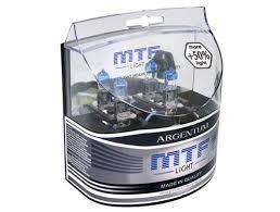 Галогеновые <b>лампы</b> H3 <b>MTF Light</b> Argentum +80% купить в ...