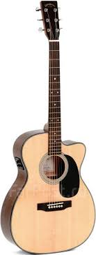 Акустическая <b>гитара Sigma Guitars</b> 000MC-1STE - Струнные и ...