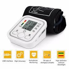 <b>Electronic Digital Automatic</b> Arm <b>Blood Pressure</b> Monitor | Shopee ...