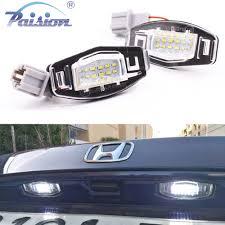 2pcs 18 led license plate light lamp for peugeot 207 307 308 citroen berlingo 2004 2009 c3 c4 c5 c6 5d